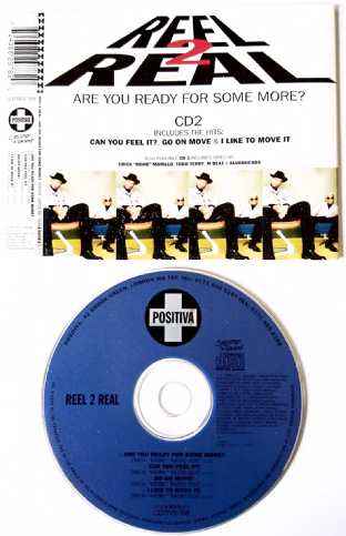 Reel 2 Real ‎- Are You Ready For Some More? (CD Single Pt 2) (EX/EX)